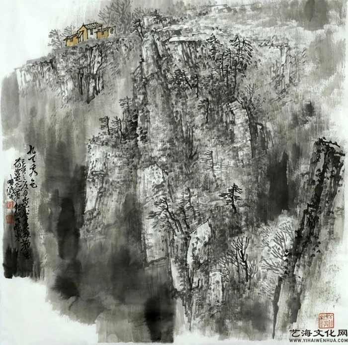 《九天秀色》 68X68cm 2020年_看图王